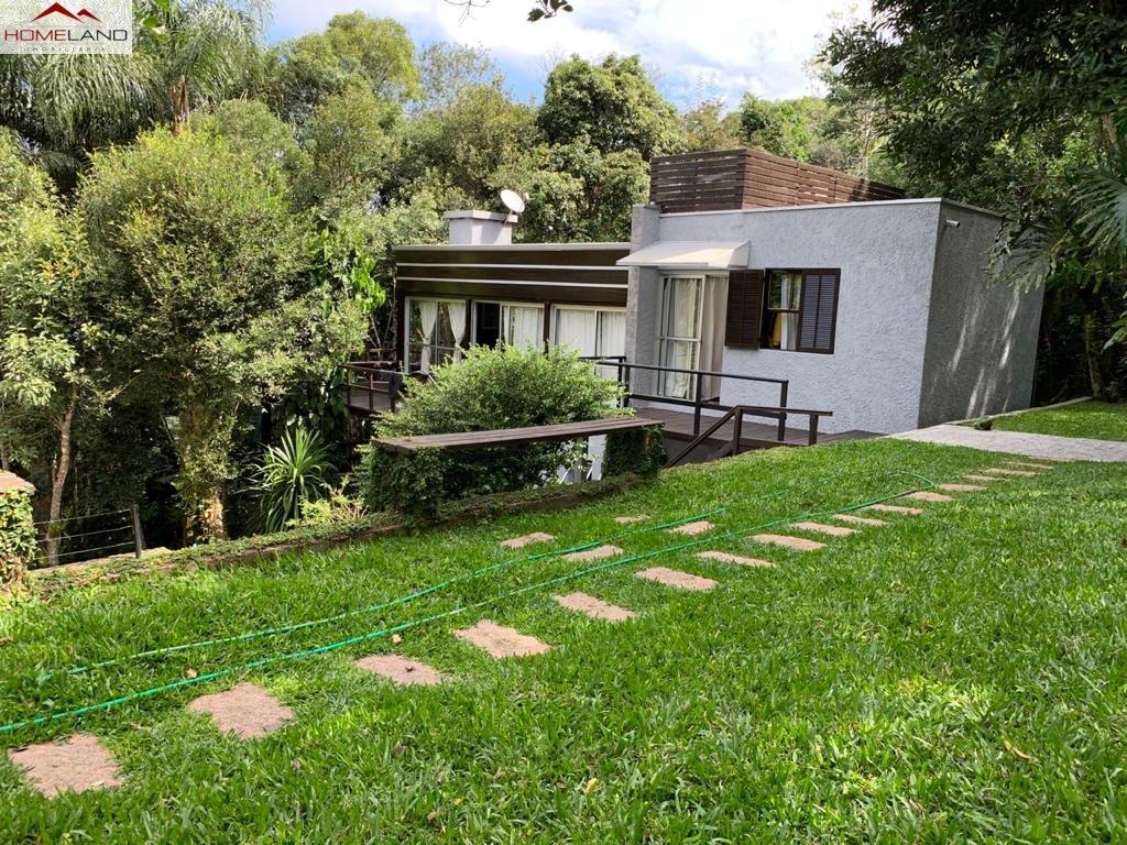 HL-169 Casa totalmente integrada à natureza em amplo terreno junto a área verde do Patrimonio do Carmo, R$ 700 mil